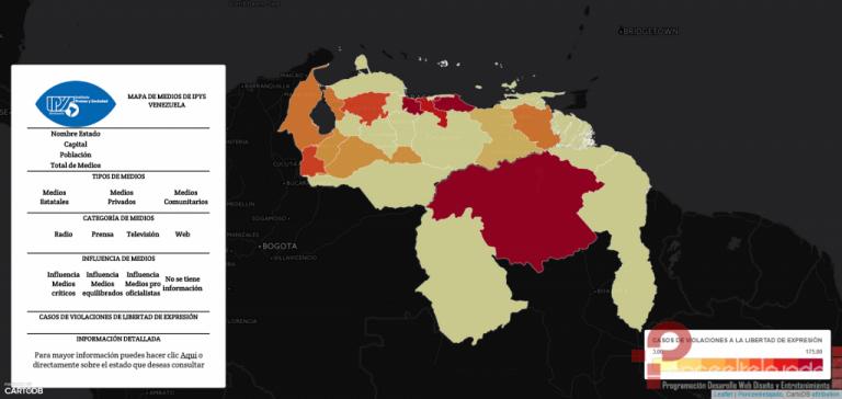 Cartografía de los medios de comunicación en Venezuela