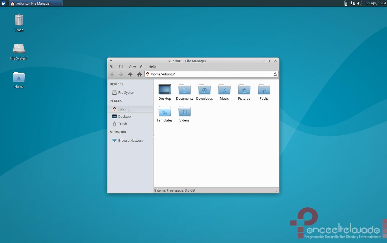 Xubuntu Screenshot