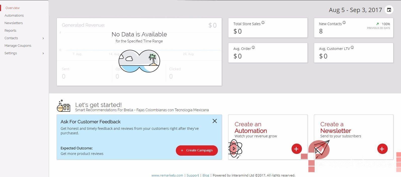 Aumentar las ventas con emails automáticos en woocommerce dashboard