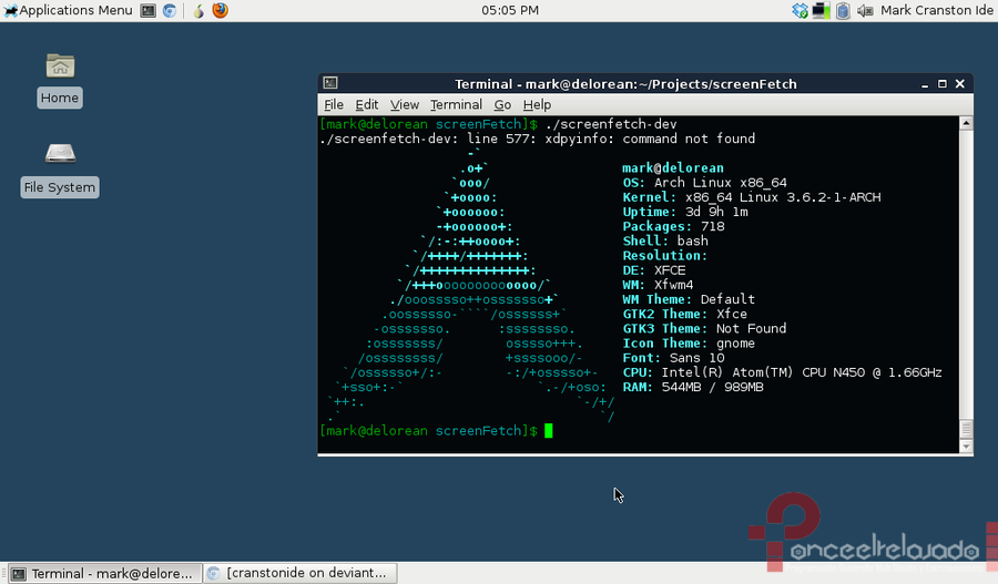 ArchLinux Screenshot