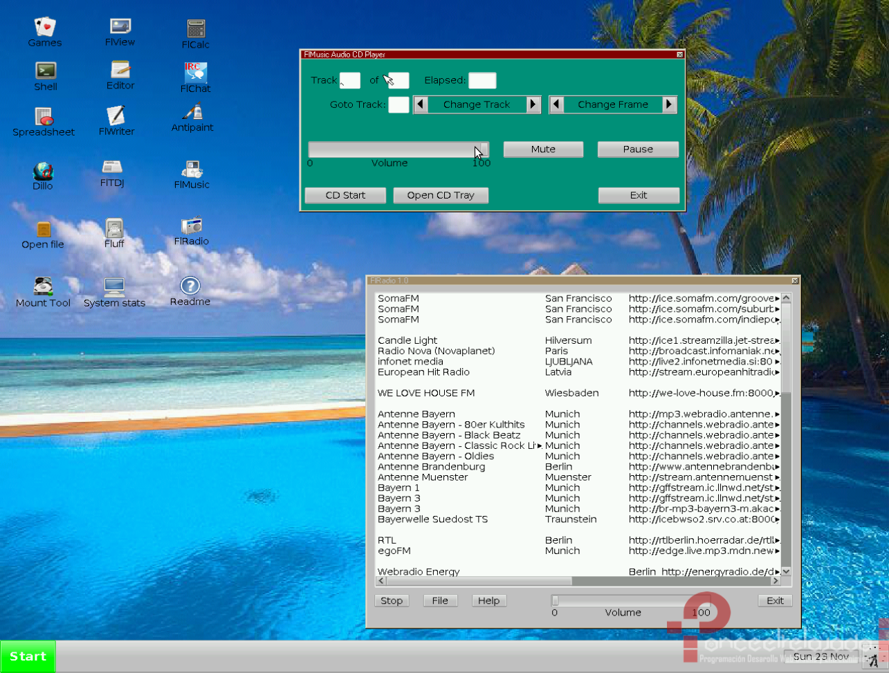 Nanolinux Screenshot
