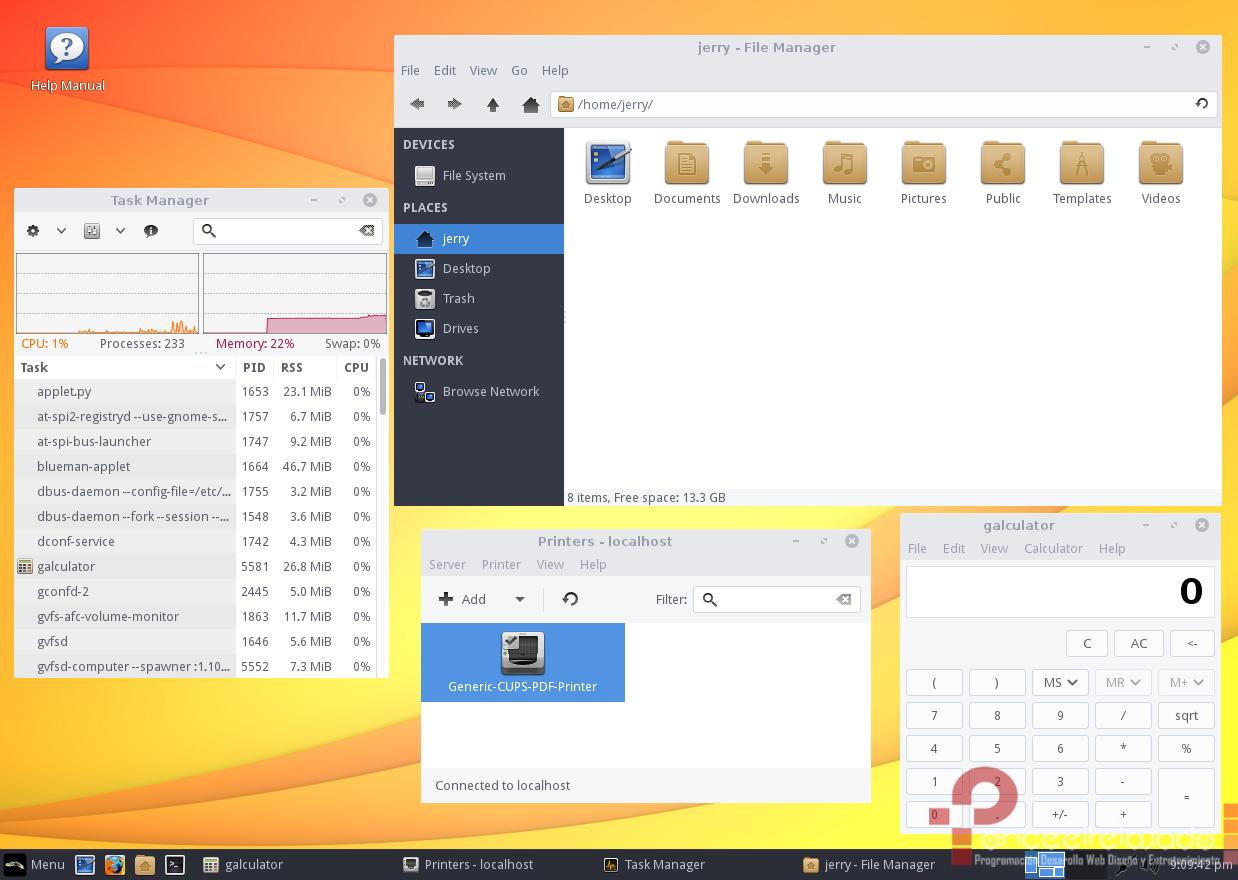 LinuxLite Screenshot