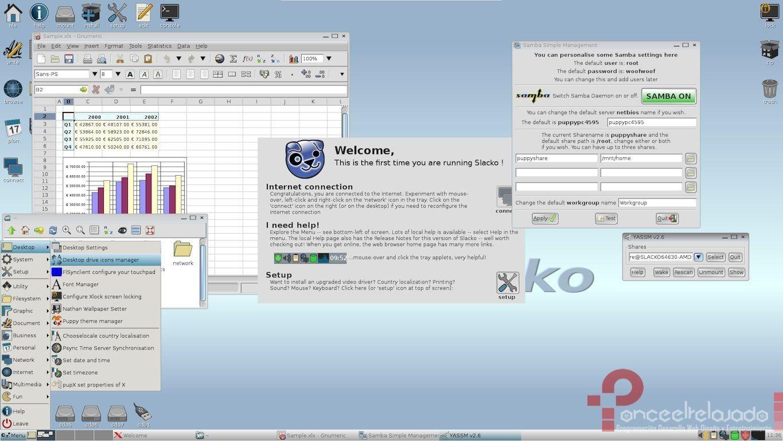 PupyLinux Screenshot