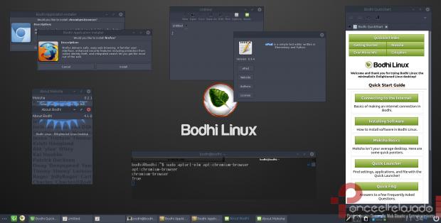 BodhiLinux ScreenShot