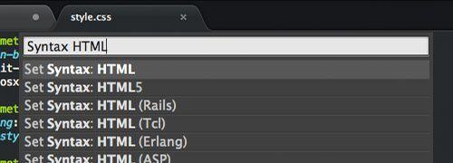 Ponceelrelajado - Sublime trucos establecer sintaxis html en editor